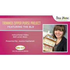 Trimmed Zipper Purse Project