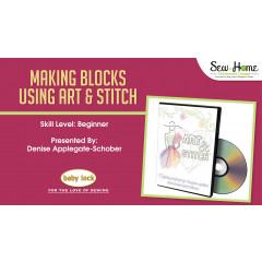 Making Blocks Using Art and Stitch and Clip Art