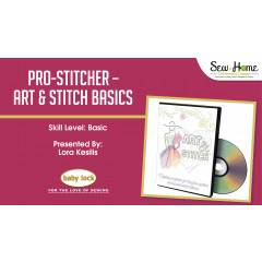Pro-Stitcher - Art and Stitch Basics