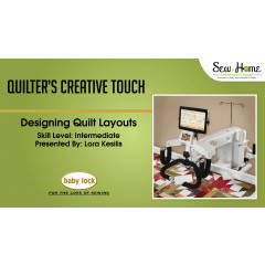 Quilter's Creative Touch - Designing Quilt Layouts