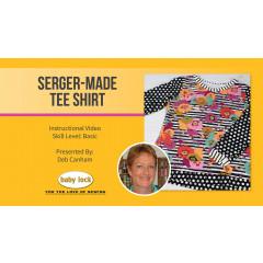 Serger-Made Tee Shirt with Deb Canham