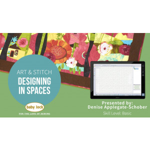 Art and Stitch: Designing in Spaces