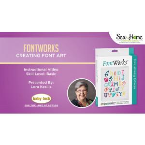 FontWorks - Creating Font Art