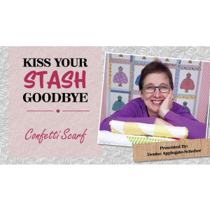 Kiss Your Stash Goodbye: Confetti Scarf
