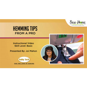 Hemming Tips From A Pro
