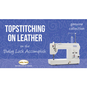 Accomplish - Topstitching on Leather