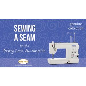 Accomplish - Sewing a Seam