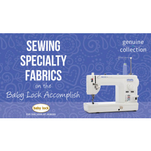 Accomplish - Sewing Specialty Fabrics