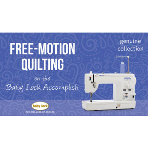 Accomplish - Free Motion Quilting
