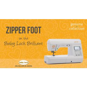 Brilliant - Zipper Foot