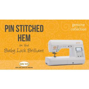 Brilliant - Pin Stitched Hem