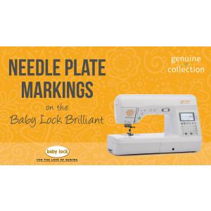 Brilliant - Needle Plate Markings