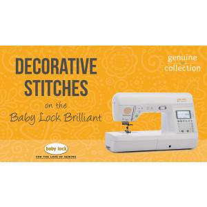 Brilliant - Decorative Stitches