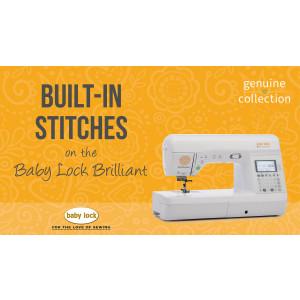 Brilliant - Built-In Stitches