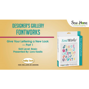 FontWorks - Give Your Lettering a New Look Part 1
