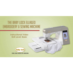 Baby Lock Ellageo Embroidery Sewing Machine