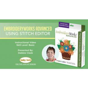 EmbroideryWorks Advanced - Using Stitch Editor