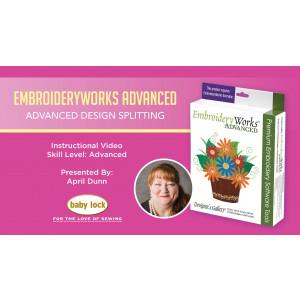 EmbroideryWorks Advanced - Advanced Design Splitting