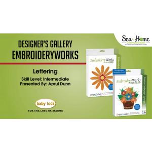 EmbroideryWorks - Lettering