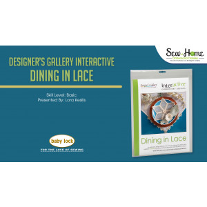 Interactive Embroidery - Dining In Lace