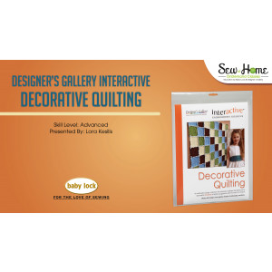 Interactive Embroidery - Decorative Quilting