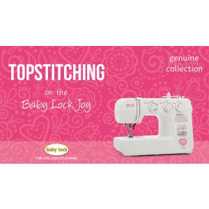 Joy - Topstitching