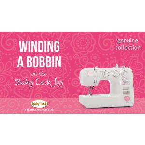 Joy - Winding a Bobbin