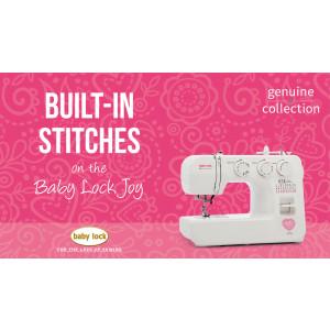 Joy - Built-in Stitches