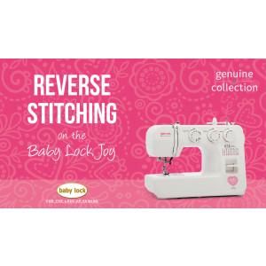 Joy - Reverse Stitching