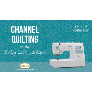 Jubilant - Channel Quilting