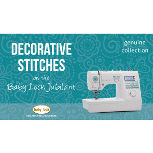 Jubilant - Decorative Stitching