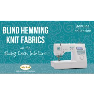 Jubilant - Blind Hemming Knit Fabrics