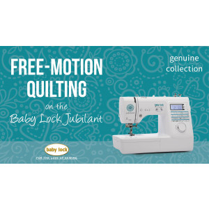 Jubilant - Free Motion Quilting