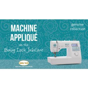 Jubilant - Machine Appliqué