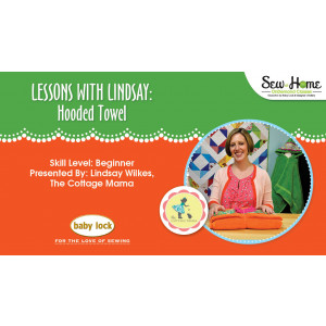 Lessons With Lindsay - Hooded Towel