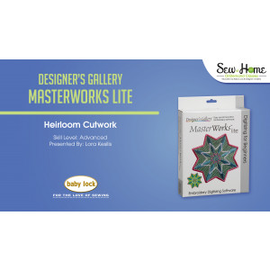 MasterWorks Lite - Heirloom Cutwork