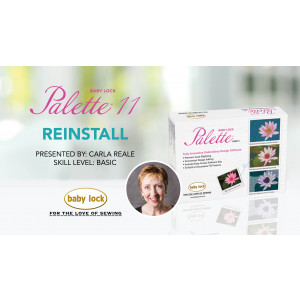 Palette 11 - Reinstall
