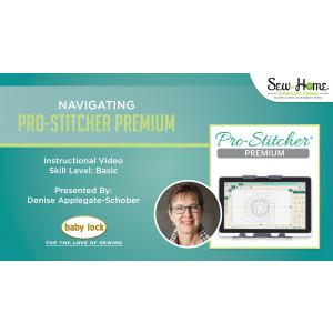 Navigating Pro-Stitcher Premium
