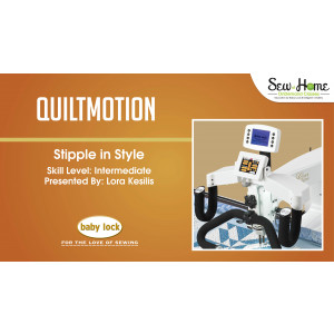 QuiltMotion - Stipple with Style