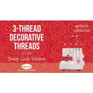 Vibrant - 3-Thread Decorative Threads