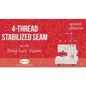 Vibrant - 4-Thread Stabilized Seam