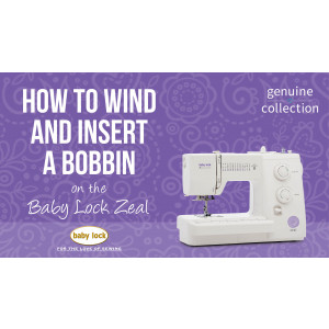 Zeal - How to Wind and Insert a Bobbin