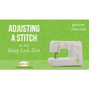 Zest - Adjusting a Stitch