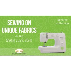 Zest - Sewing on Unique Fabrics