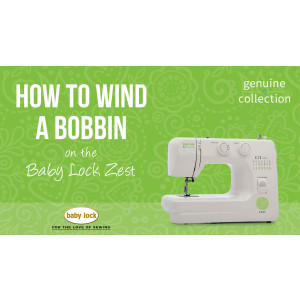 Zest - How to Wind a Bobbin