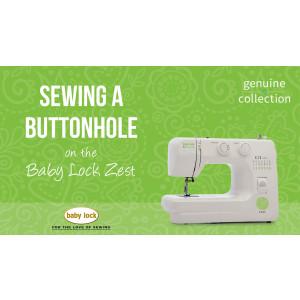 Zest - Sewing a Buttonhole