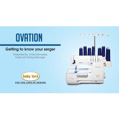 Getting to Know Your Ovation Serger Video