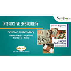 Interactive Embroidery - Sashiko