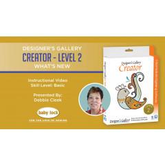 Creator Level 2 - What's New