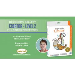 Creator Level 2 - Fill Stitch Properties